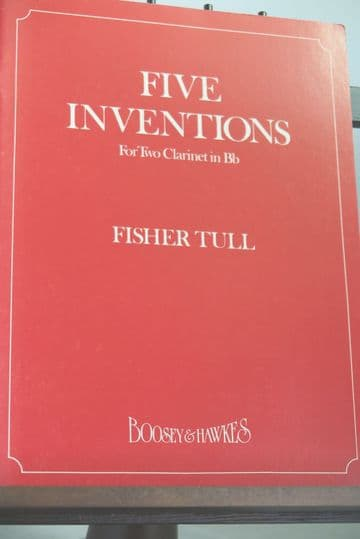 Tull F - Five Inventions for Two Clarinets in B Flat